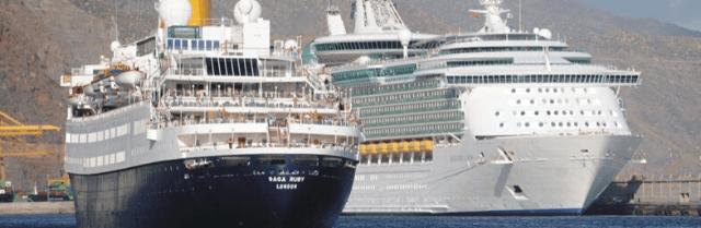 Puertos de Tenerife registrará de septiembre a diciembre 447 mil cruceristas en 245 escalas