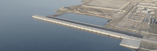 """Concluidas las obras de """"Segundo tramo del muelle polivalente del puerto de Granadilla"""""""