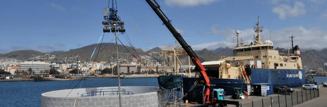 El puerto de Tenerife se consolida como base del cable submarino de fibra óptica