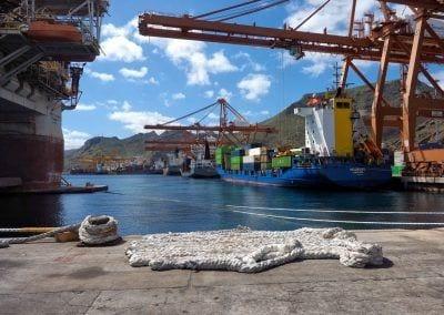 Dársena del Este, puerto Tenerife