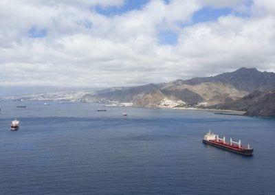 Fondeo Puerto de Tenerife