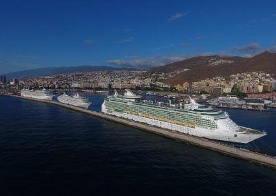 Gran crucero en Tenerife