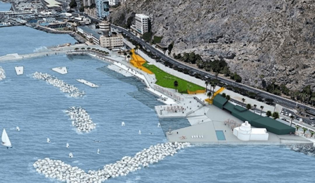 A concurso las obras de Defensa Marítima y Ordenación de la Zona de Charcos del Área Funcional de Valleseco, Fase II