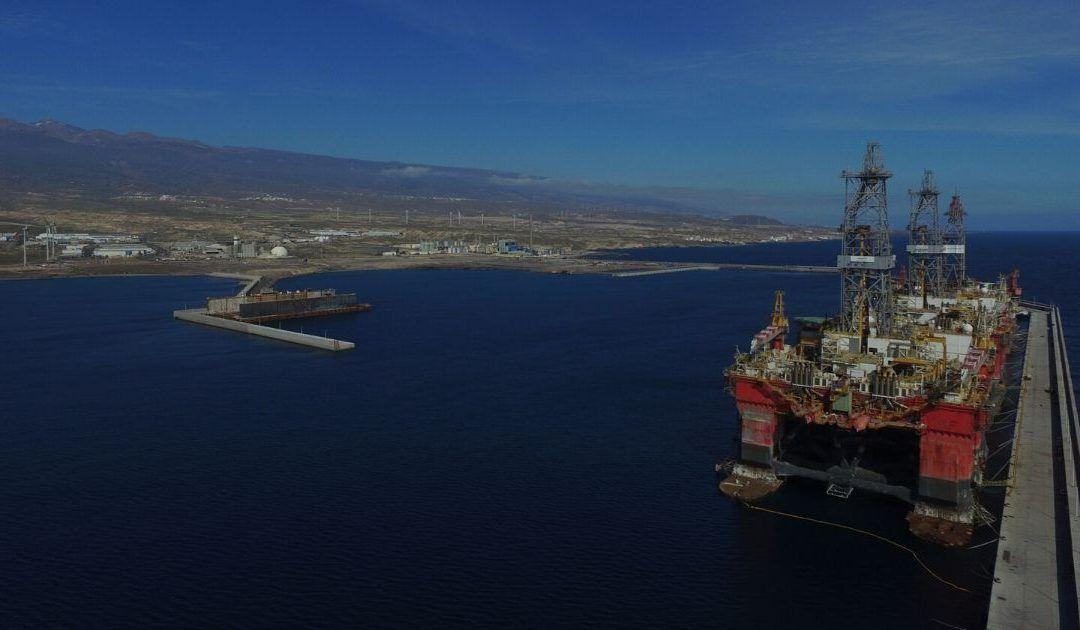 Visto bueno medioambiental a la reparación naval en el Puerto de Granadilla