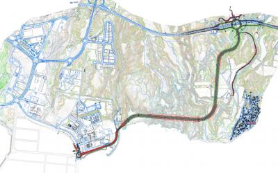 Arranca el procedimiento de ocupación urgente de terrenos para el viario de conexión del Puerto de Granadilla