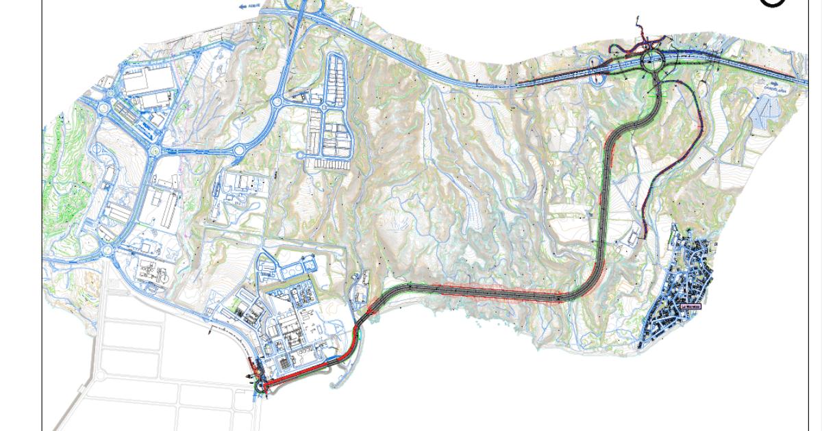 Arranca el procedimiento de ocupación urgente de terrenos para el viario de conexión del Puerto de Granadilla - Autoridad Portuaria de Santa Cruz de Tenerife