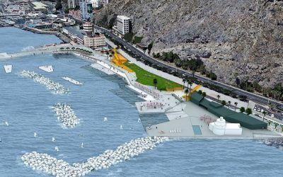El Gobierno autoriza la contratación de las obras de defensa marítima y de ordenación de la zona de Charcos en Valleseco