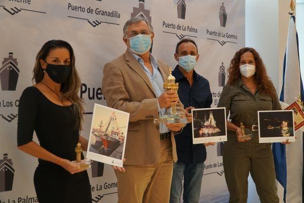 De izquierda a derecha. Karen Russo, Carlos gonzález y Carlos Lorenzo