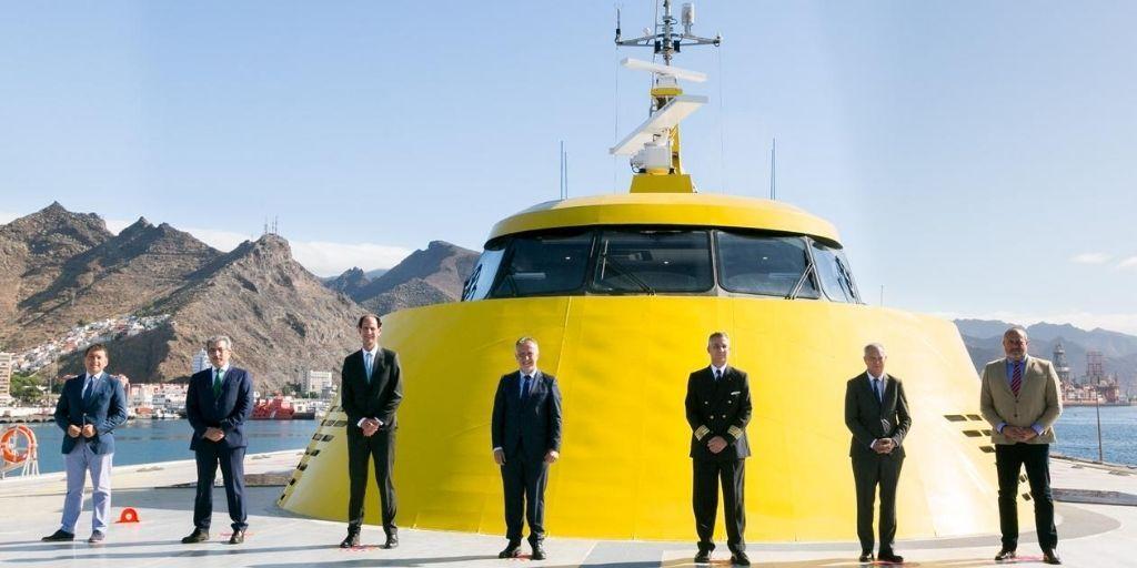 Fred. Olsen Express trae a Canarias el trimarán más moderno y del mundo para unir Tenerife y Gran Canaria