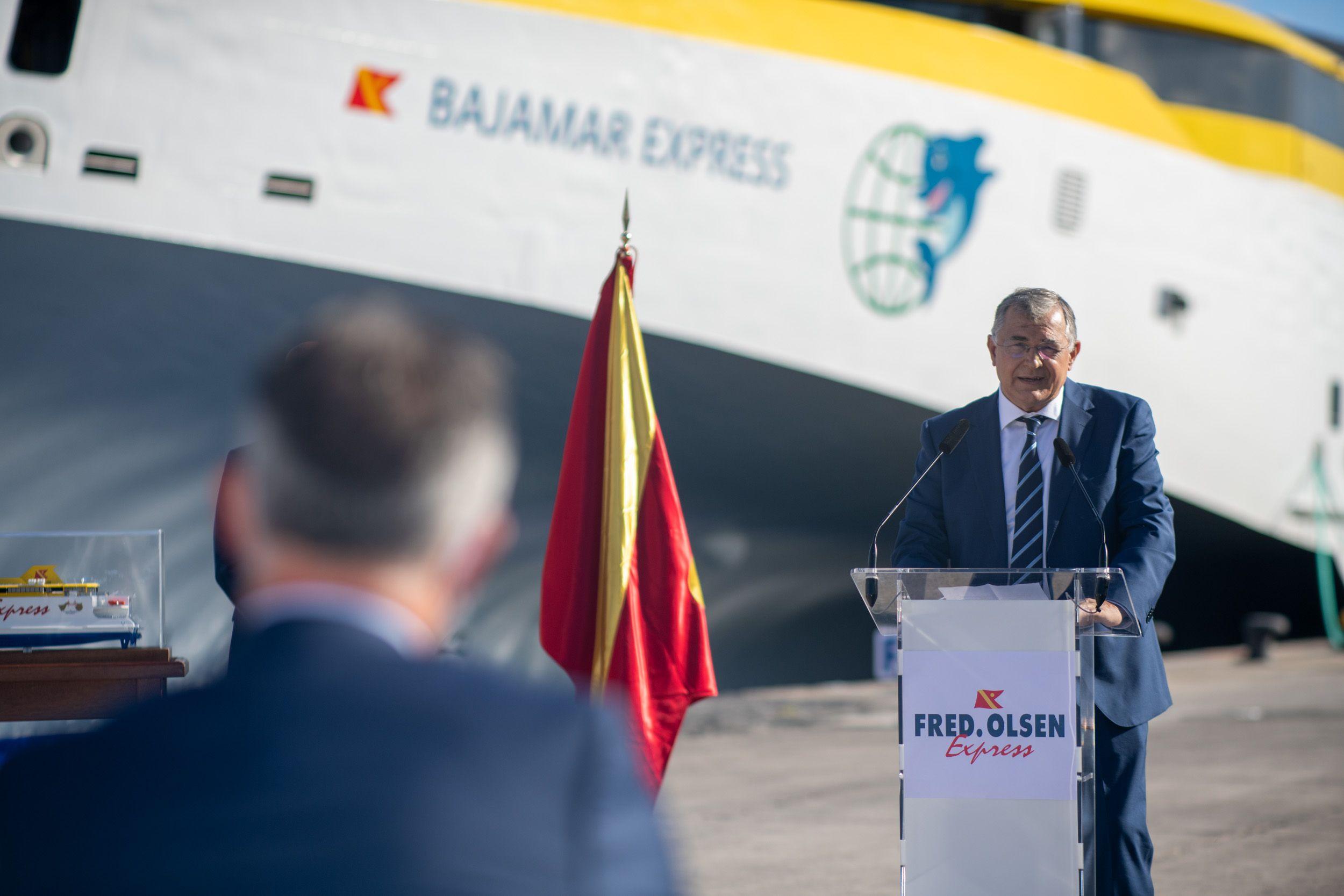 Presentacion Bajamar con Fred Olsen