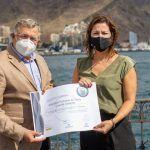 Entrega distintivo Autoridad Portuaria SICTED