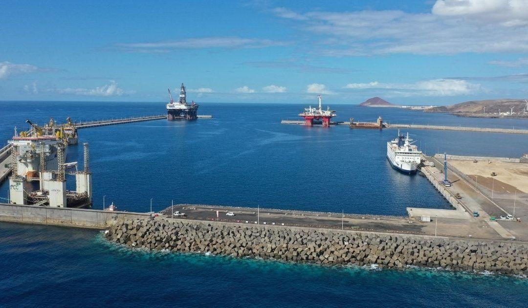 Vista parcial puerto Granadilla