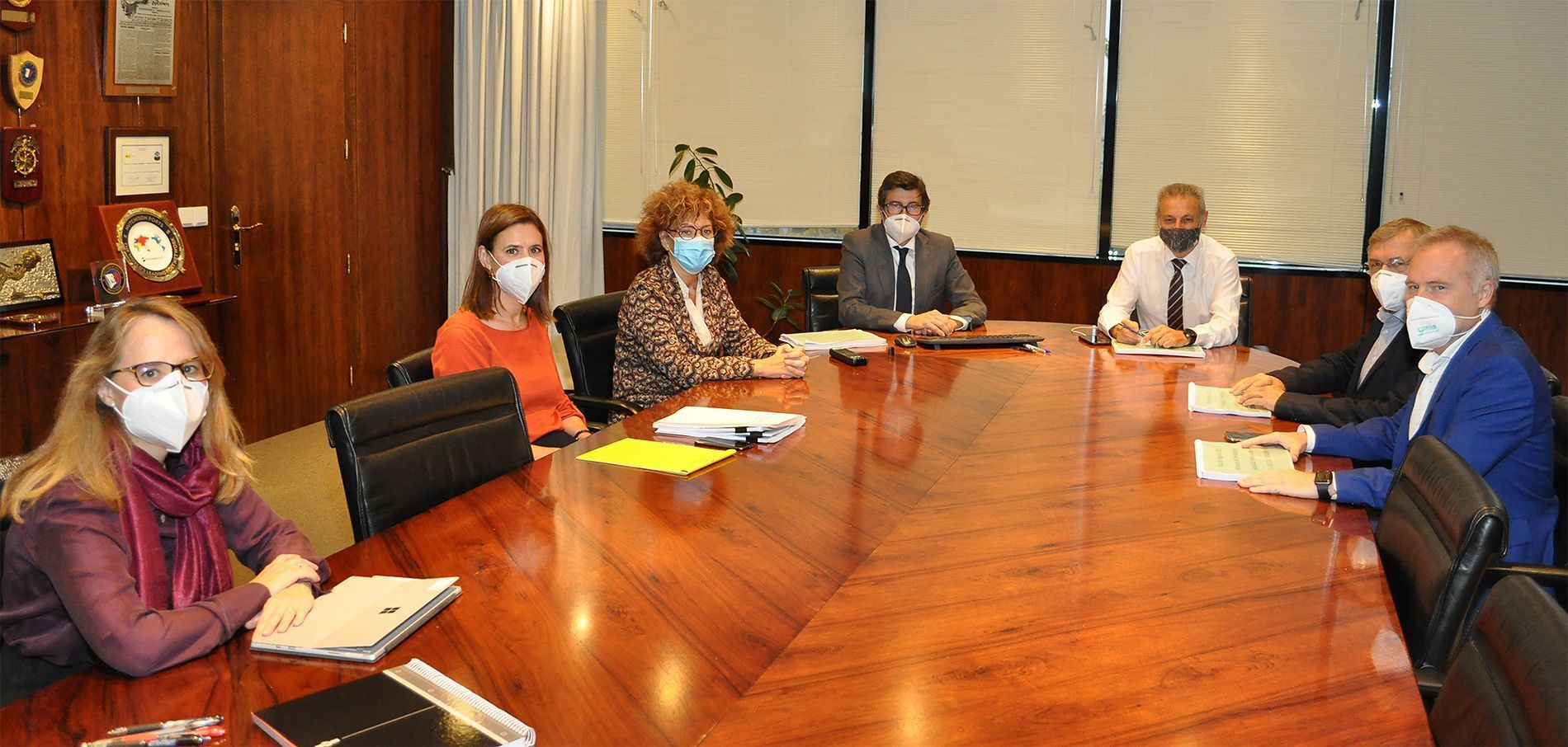 Reunión sobre el Plan de Empresa
