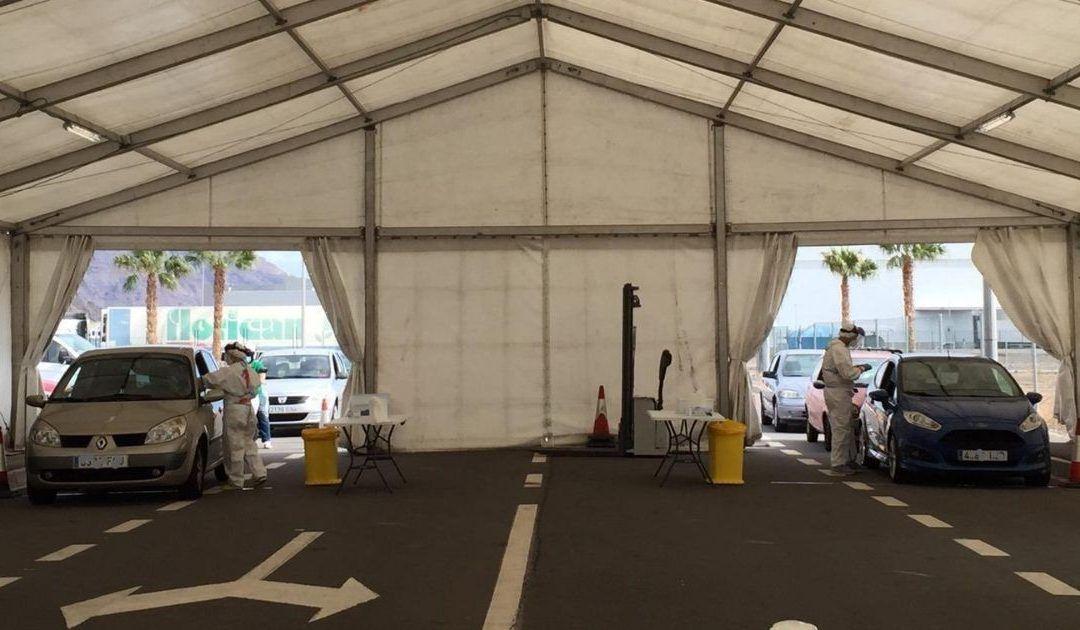 Puertos de Tenerife presta su colaboración en la toma de muestras para la COVID-19