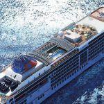 Crucero Europa 2 navegando por aguas canarias