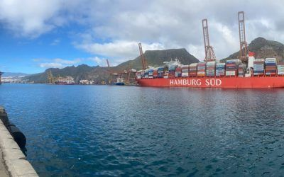 El puerto de Tenerife mueve en el primer trimestre del año 12 mil teus en trasbordo internacional