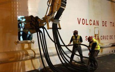 El puerto de La Palma incrementa sus servicios con el suministro de electricidad a buques en atraque