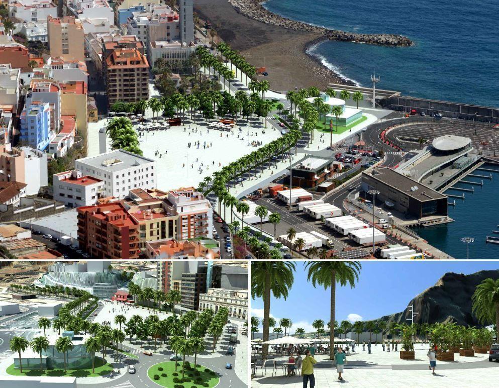 Recreación de la propuesta Plan Territorial Puerto La Palma