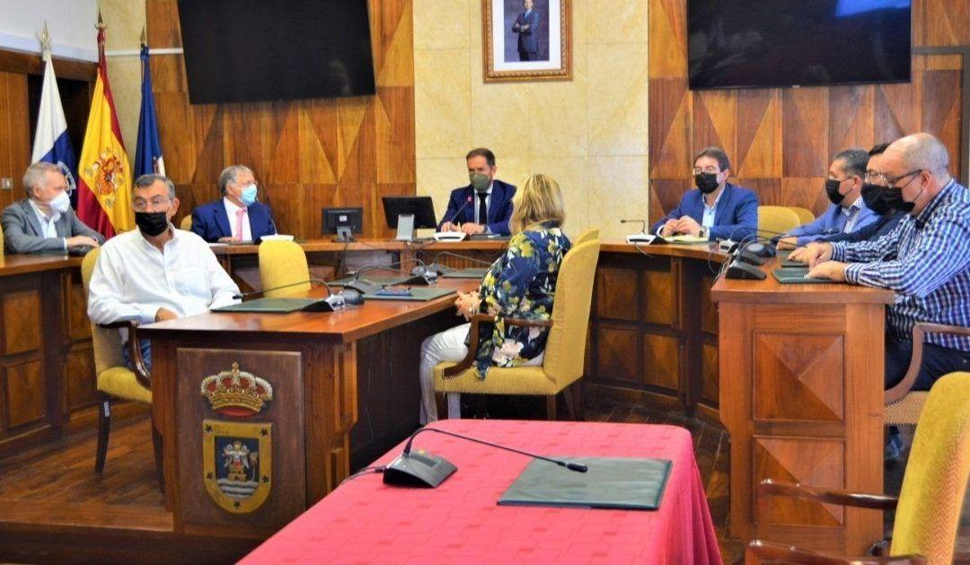 Reunion Cabildo La Palma para el Plan director