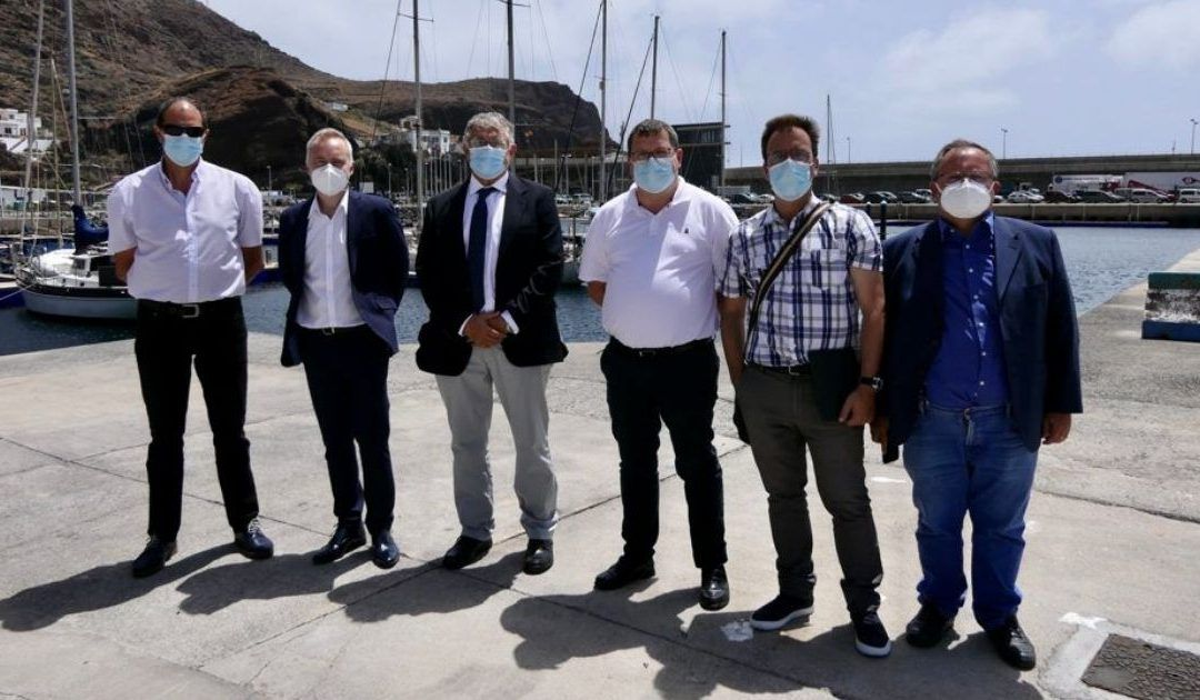Puertos de Tenerife mejora la prestación de servicios del puerto de La Estaca con obras por un valor cercano al millón de euros