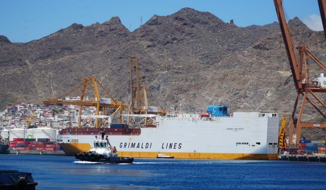 Grimaldi Lines ratifica su apuesta por el puerto tinerfeño como plataforma de conexión marítima internacional