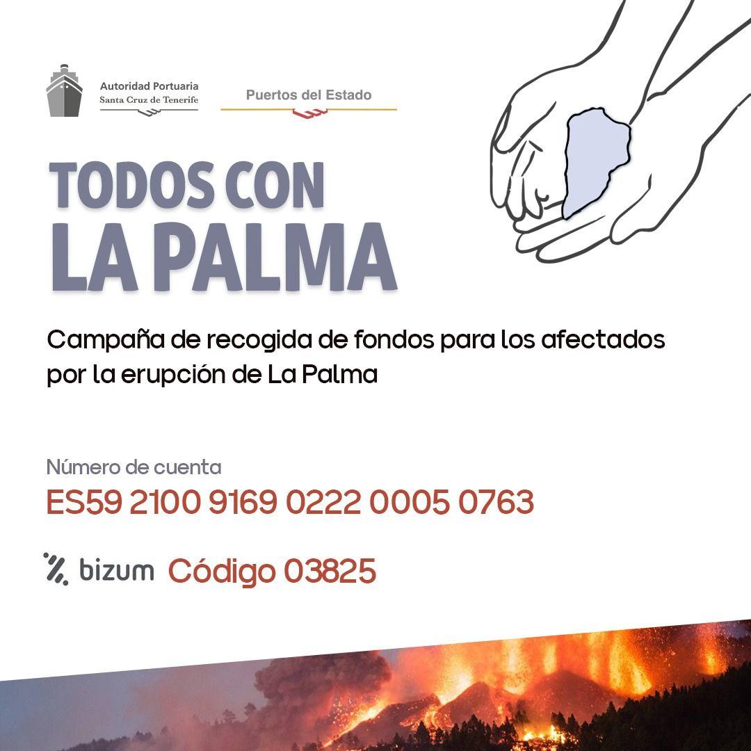 Pop up todos con La Palma