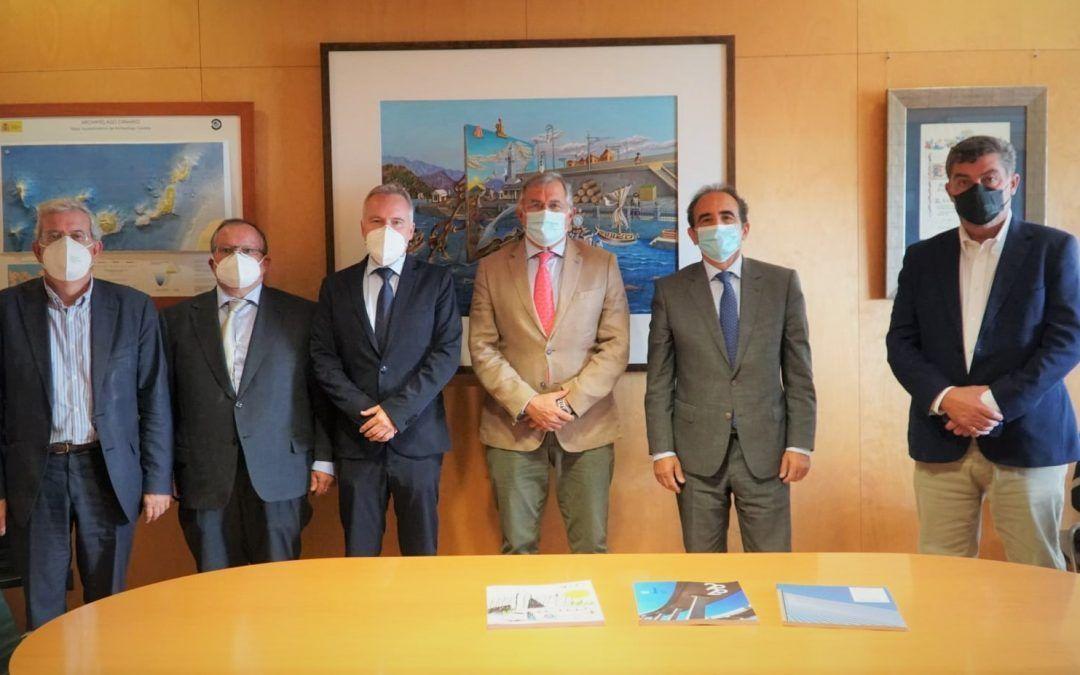 Puertos de Tenerife acoge una reunión con el Colegio de Ingenieros de Caminos